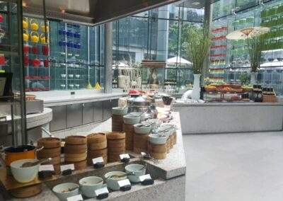 Amazing Breakfast At The Mandarin In China