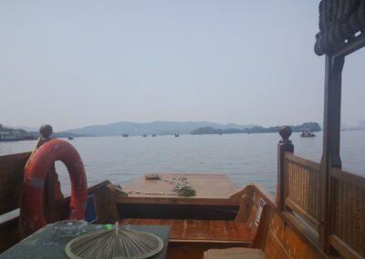 Boat View Ride At The West Lake China