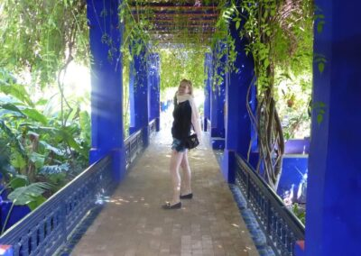 Botanical Gardens In Marrakech Where Yves Saint Laurent Is Buried In Morocco