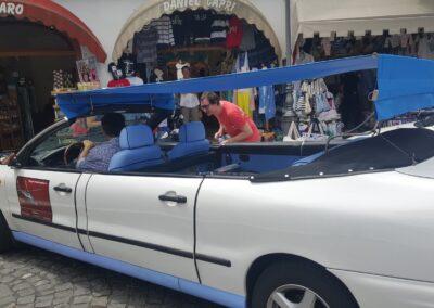 Car Transportation In Capri, Italy