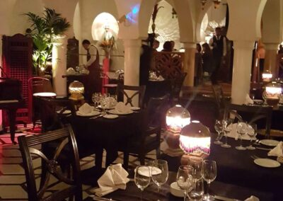Fine Dining In One Of The Best Restaurants At Morocco