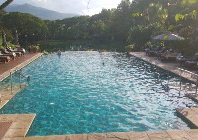 Four Season Resort Chiang Mai Swimming Pool In Amphoe Mae Rim, Thailand