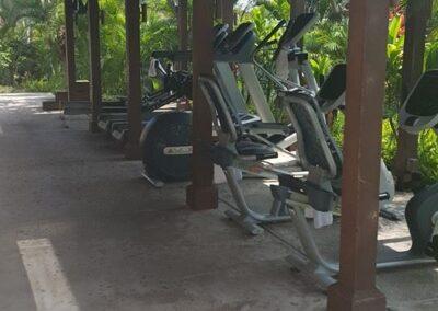Gym Equipment At Four Seasons Resort Hualalai, Kailua-Kona, Hi, United States