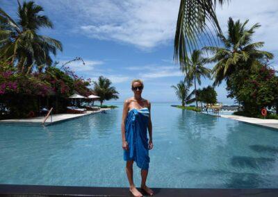Rachelle Ginsberg At Four Seasons Resort Maldives