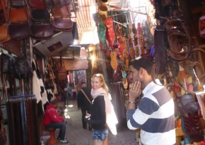 Rachelle Ginsberg At Morocco Marketplace