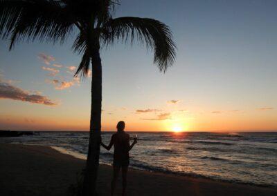 Rachelle Ginsberg In A Sunset View At The Resort In Four Seasons Resort Hualalai, Kailua-Kona, Hi, United States