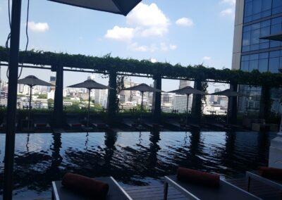 St. Regis Hotel Pool View In Ban Mae Nam, Thailand
