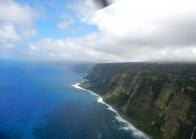 Wonderful Shots From Helicopter In Hawaii, United States