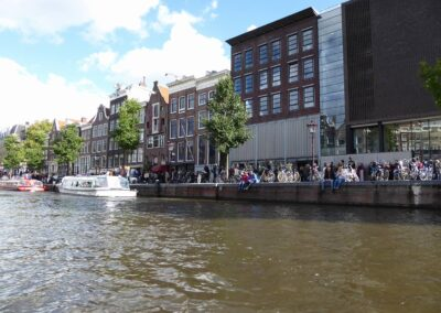 Boulevard In Amsterdam, Netherlands
